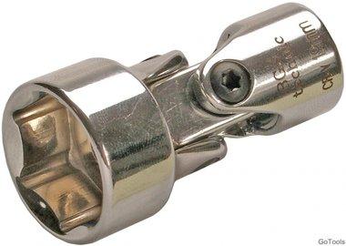 Bgs Technic 3/8 universal Kniestuk dop, 19 mm