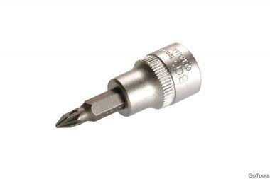 Bitaansluiting 10 mm (3/8) aandrijving Torx -T55