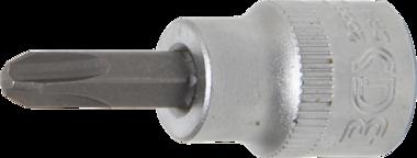 Dopsleutelbit 10 mm (3/8) kruiskop PH3