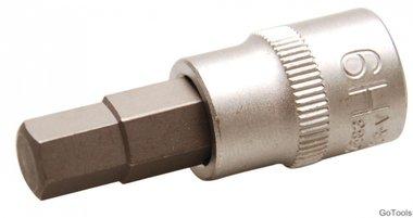 Bit dop | Aandrijving 10 mm (3/8) | binnenzeskant 9 mm