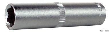 1/4  super lock dop (diepe), 5 mm