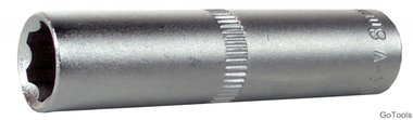 1/4  super lock dop (diepe), 7 mm