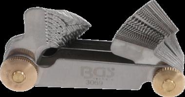 Bgs Technic Schroefsteekmeter, 52 bladen metrisch 0,25 - 6,0 mm, Whitworth