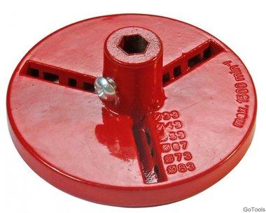 Backing Disc voor Tile Driller