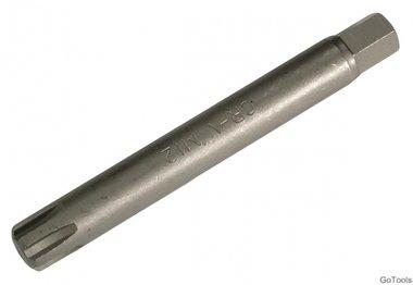 Ribe bit, 100 mm lang, m12