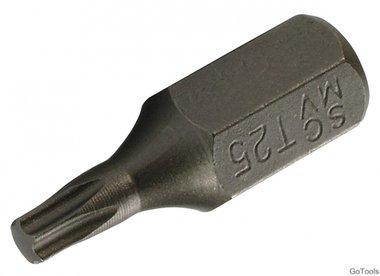 Bit 10 mm (3/8) buitenzeskant T-profiel (voor Torx) T25