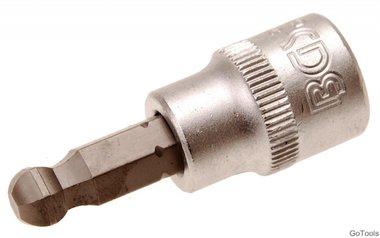 3/8 dop bit, 8 mm binnenzeskant met ball head