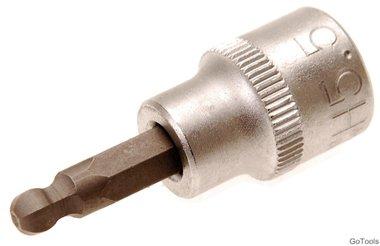 3/8 dop bit, 5,5 mm interne hexagon met ball head