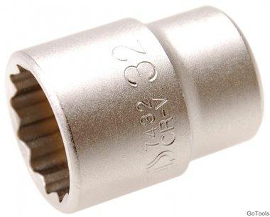 3/4 Dop 12-kant 32 mm