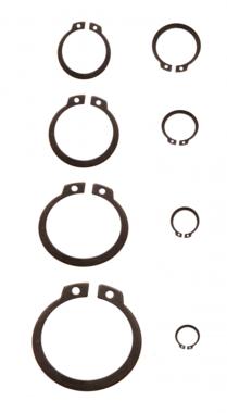 Bgs Technic Assortiment borgringen buiten diameter 3 - 32 mm 300-delig