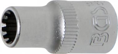 Dopsleutel Gear Lock 6,3 mm (1/4) 6 mm