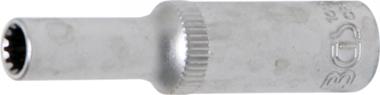 Dopsleutel Gear Lock, diep 6,3 mm (1/4) 5 mm