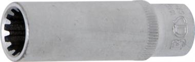 Dopsleutel Gear Lock, diep 6,3 mm (1/4) 10 mm