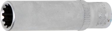 Dopsleutel Gear Lock, diep 6,3 mm (1/4) 9 mm