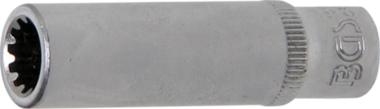 Dopsleutel Gear Lock, diep 6,3 mm (1/4) 8 mm