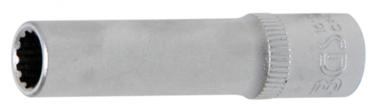 Dopsleutel Gear Lock, diep 6,3 mm (1/4) 7 mm
