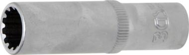 Dopsleutel Gear Lock, diep 10 mm (3/8) 12 mm