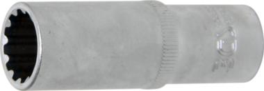 Dopsleutel Gear Lock, diep 10 mm (3/8) 15 mm
