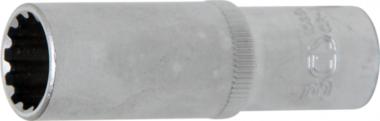 Dopsleutel Gear Lock, diep 10 mm (3/8) 14 mm