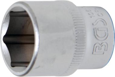 Contactdoos, zeskant 10 mm (3/8) schijf 17 mm