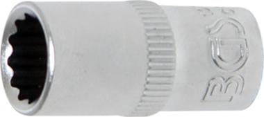 Dop, 12-punts | 6,3 mm (1/4) schijf | 8 mm