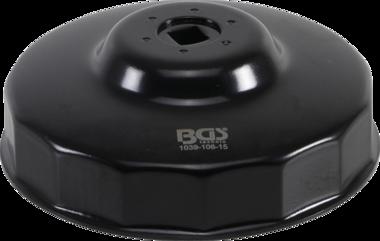 Bgs Technic Oliefiltersleutel 15-kant diameter 106 mm voor Fiat Ducato