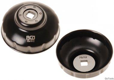 Bgs Technic Oliefiltersleutel twaalfkant diameter 76 mm voor Fiat, Mercedes-Benz, Renault