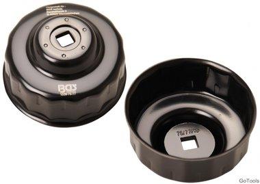 Bgs Technic Oliefiltersleutel 15-kant diameter 75 - 77 mm voor Audi, Ford, Isuzu, Mercedes-Benz, Opel, VW