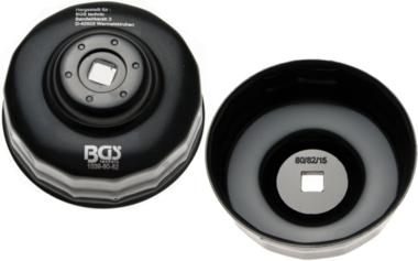 Bgs Technic Oliefiltersleutel 15-kant diameter 80 - 82 mm