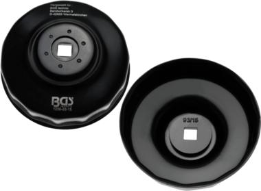 Bgs Technic Oliefiltersleutel 15-kant diameter 93 mm voor Honda, Mazda, Mitsubishi, Nissan, Volvo