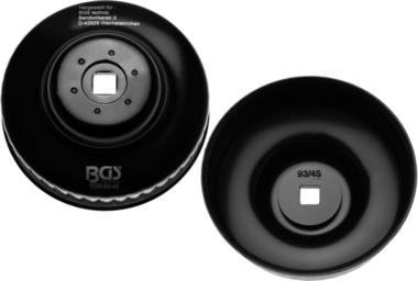 Bgs Technic Oliefiltersleutel 45-kant diameter 93 mm voor Renault, VW