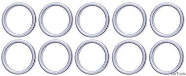 Bgs Technic Assortiment afdichtringen voor BGS 126 •ƒ•••'•• 13 / 16,5 mm 10-delig