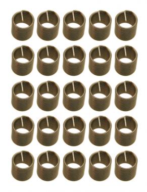 Schroefdraad huls, M6x1,0 - 25 delig