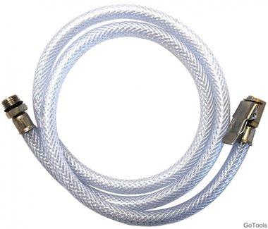 Bgs Technic Spare slang met adapter voor air inflators, 100 cm