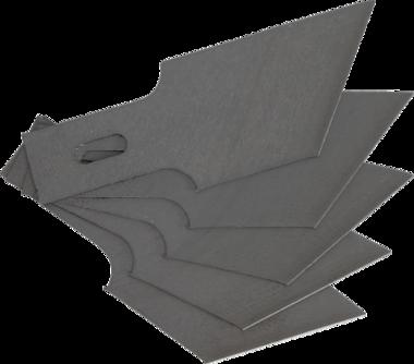 Reserveschraperbladen Set voor BGS 364, 0,6 x 16 mm x 53° 5-stuks