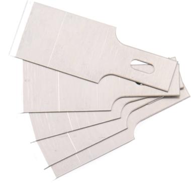Reserve schraperbladen set voor BGSs 364, 0.6 x 16 mm 5 stuks