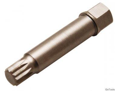 Bgs Technic Speciaal bit voor demontage van de poelies op dynamo's veeltand M10 x 64 mm