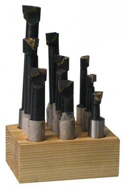 Set beitels voor kotterkop kkc, KBS912 -12mm