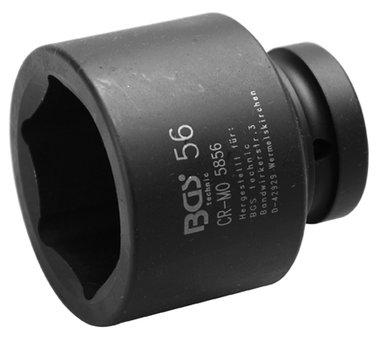 Bgs Technic 1 Inch Duim krachtdop 56 mm 6kant