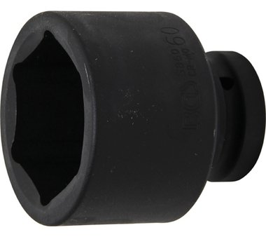 Bgs Technic 1 Inch Duim krachtdop 60 mm 6kant