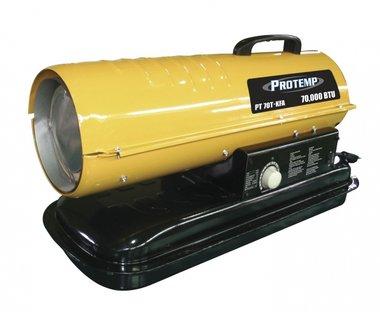 Warmeluchtblazer op diesel 385 m³