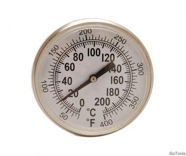 Bgs Technic Thermometer with Sensor voor Radiator druk test kit