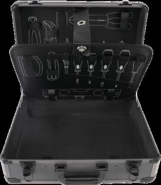 Bgs Technic Leeg aluminium koffer voor Gereedschap set BGS-15501