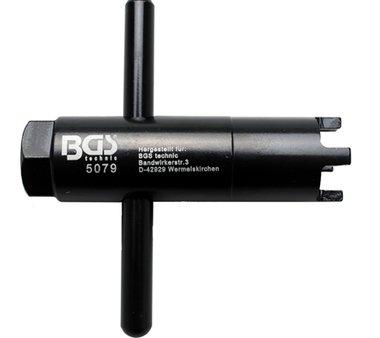 Bgs Technic Groeffreesmoersleutel voor BMW cilinderkop