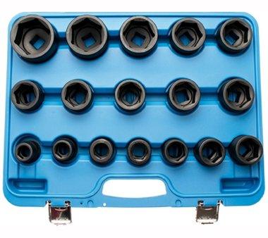 17-piece 3/4 Impact Socket Set, 19 - 55 mm