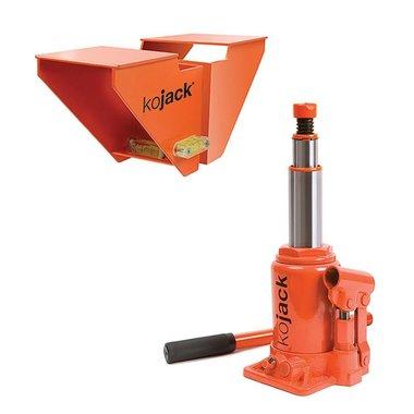 KoJack hydraulische caravankrik met waterpas