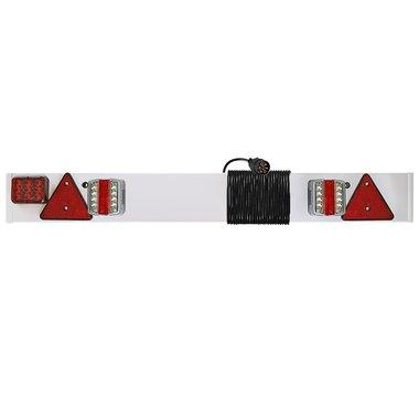Verlichtingsbalk LED met LED mistlamp + 6M kabel