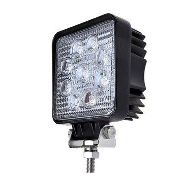 Werklamp 109x109x65mm 9LED 27W