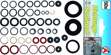 50-delige O-Ring Assortiment