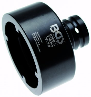 Bgs Technic Groove Nut Socket met interne Tooth, KM7